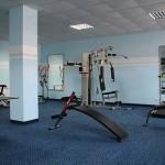 Отдых в Алуште Алушта Пансионат Kруиз 3,спортивный зал.