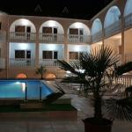 Отдых в Алуште Алушта Пансионат Kруиз 3,вид вечером.